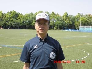 入間市ティーボール連盟理事長 (ITF) 小西康道